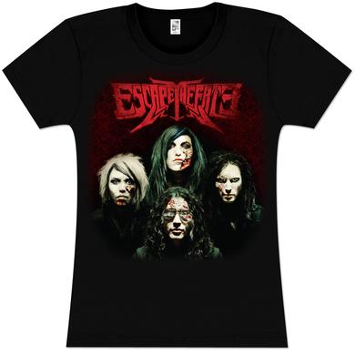 Escape The Fate Deluxe Album Cover Fitted Girlie T-Shirt