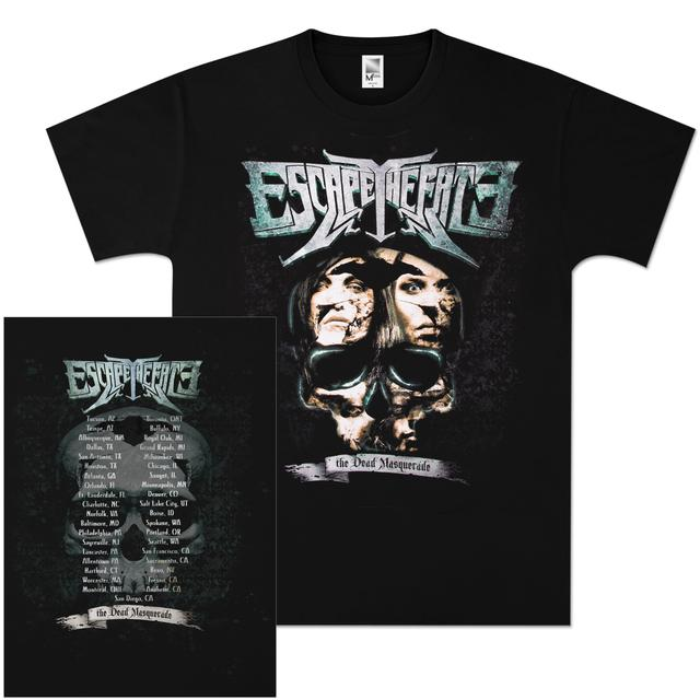 Escape The Fate Brain Dead 2011 Tour T-Shirt