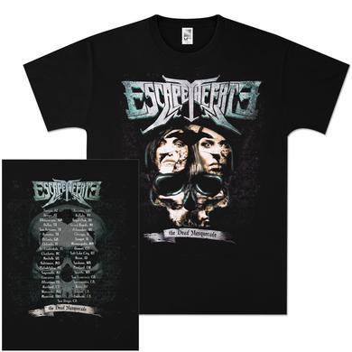 Escape The Fate Brain Dead 2011 Tour T-Shirt