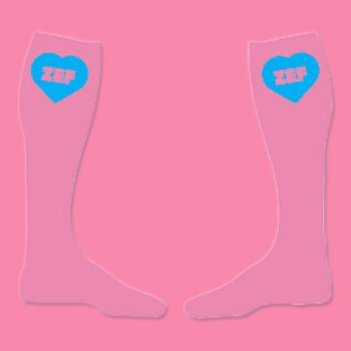 Die Antwoord Zef Pink Socks