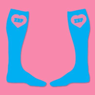 Die Antwoord Zef Blue Socks