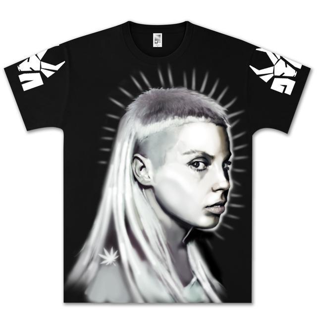 Die Antwoord Yolandi Airbrushed T-Shirt