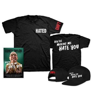 Corey Taylor You're Making Me Hate You T-Shirt & Hat Bundle