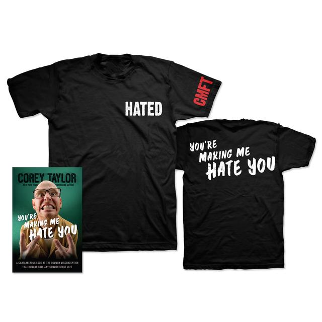 Corey Taylor You're Making Me Hate You T-Shirt Bundle