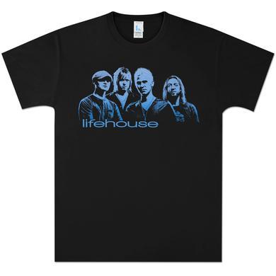 Lifehouse Blue Photo T-Shirt