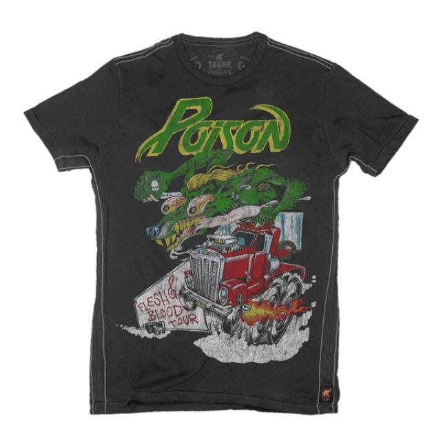 Poison Flesh and Blood Tour '90-'91 T-Shirt