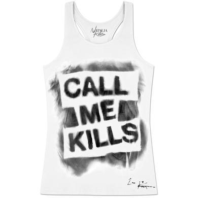 Natalia Kills Call Me Kills Girlie Tank Top