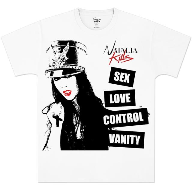 Natalia Kills Sex Love Control Vanity T-Shirt