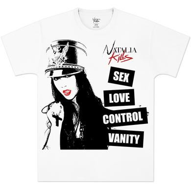 Natalia Kills Sex Love Control Vanity T-Shirt
