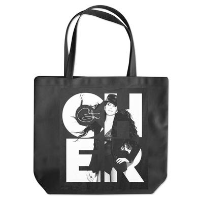 Cher Photo Square Tote Bag