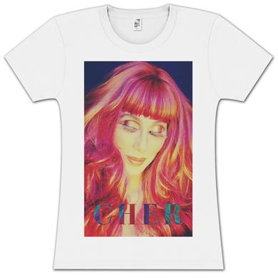 Cher Box Colour Girls T-Shirt