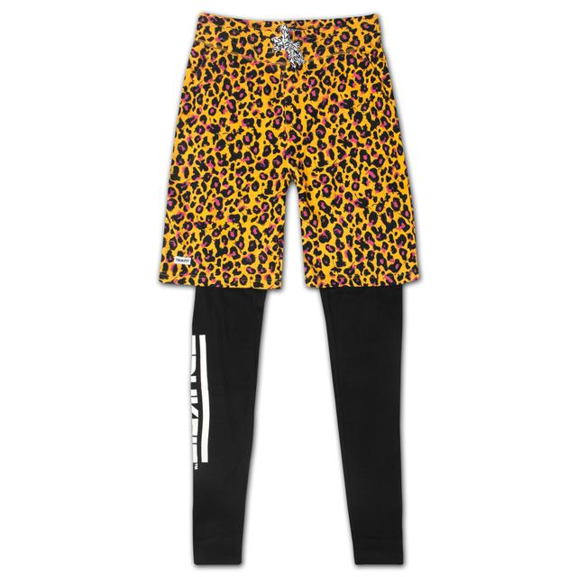 Trukfit Truk Cheetah Double Layered Black Sweatpants