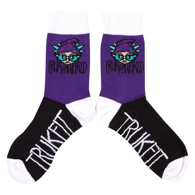 "Trukfit Truk Da World 7"" Crew Sock - TMS1401A06"