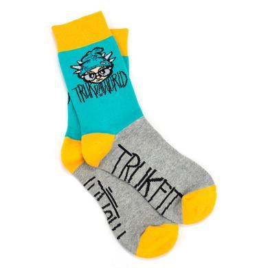 """Trukfit Truk Da World 7"""" Crew Sock"""