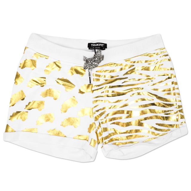 Trukfit Gold Foil Jr. Shorts