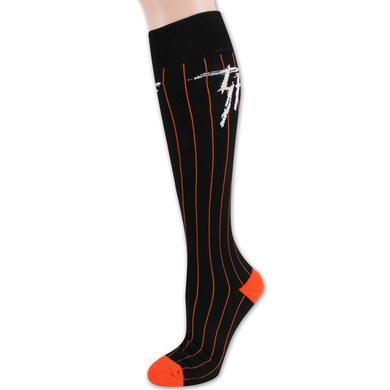 Trukfit Baseball High Sock - Black