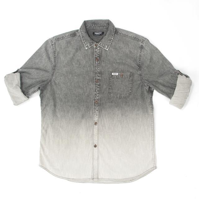 Trukfit Dip Dye Acid Denim Shirt