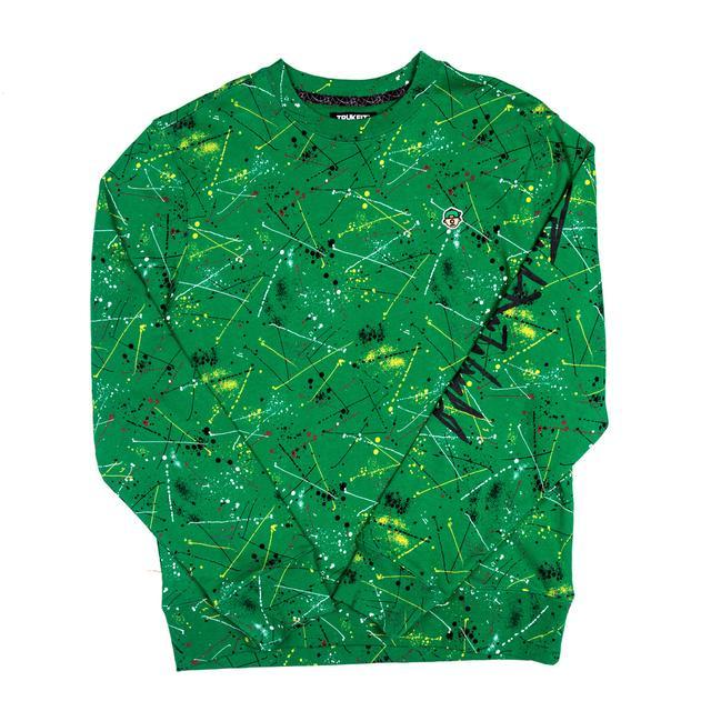 Trukfit D Splatter Crew Sweatshirt