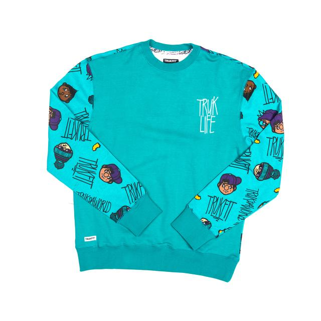 Trukfit The Homies Crew Neck Long Sleeve