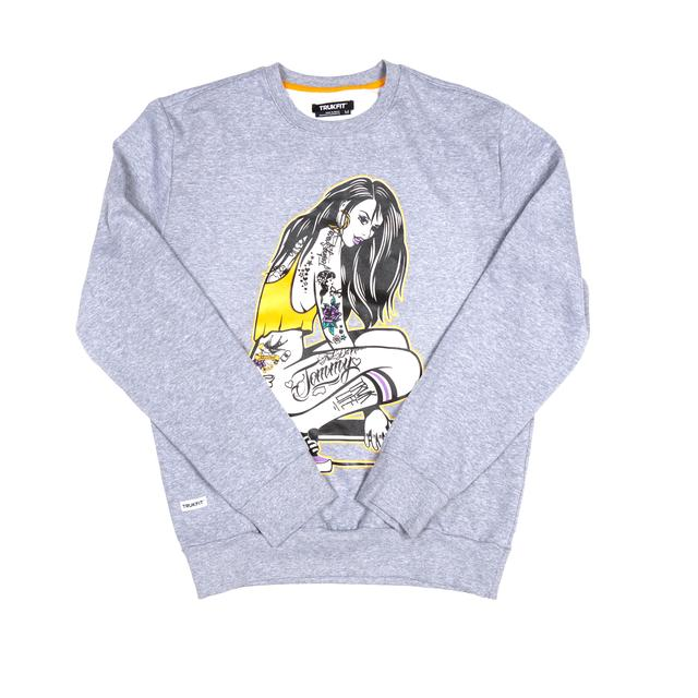 Trukfit Ride My Truk Crew Neck Sweatshirt