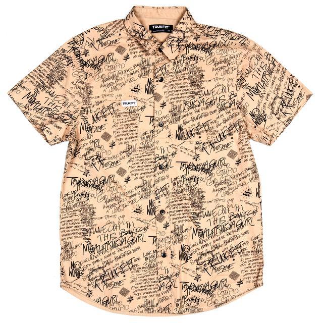 Trukfit Scribbles Woven Shirt