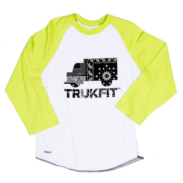 Trukfit Logo Raglan