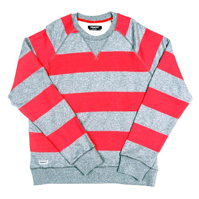 Trukfit Bold Stripes Crewneck Sweatshirt
