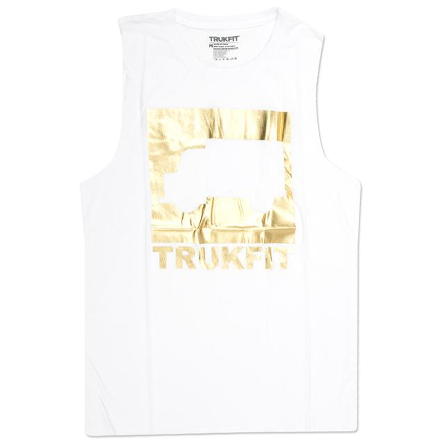 Trukfit Gold Truk Muscle Jr. Tank