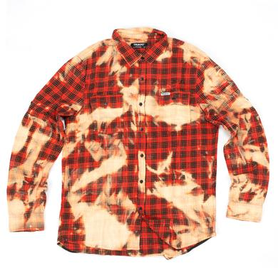 Trukfit Splatter Plaid Shirt