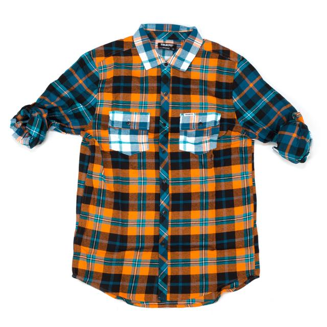 Trukfit Blocked Plaid Shirt
