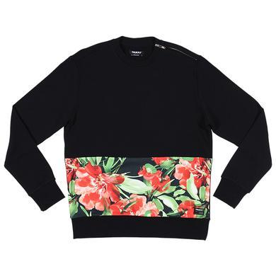 Trukfit Floral Cut & Sew Crewneck