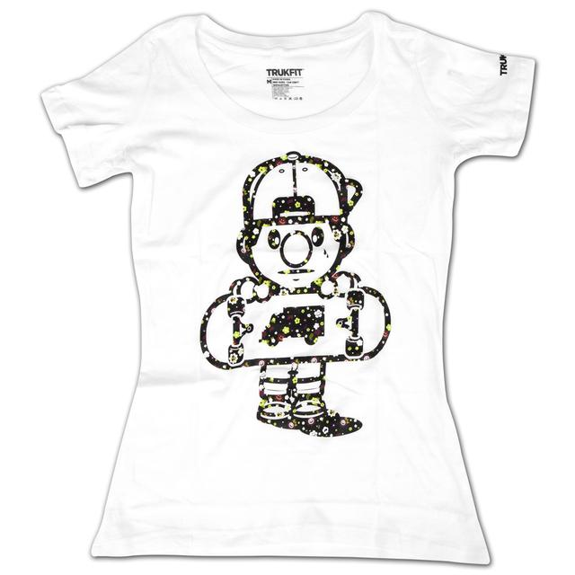 Trukfit TRIPPY TOMMY Jr. T-Shirt - White TJ1309T01