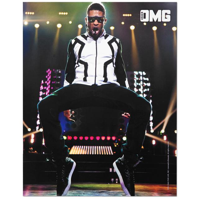 Usher Spring 2011 Tour 8x10 Photo