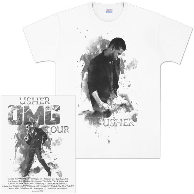Usher OMG Tour T-Shirt