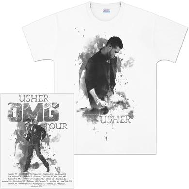 Usher OMG Tour T-Shirt