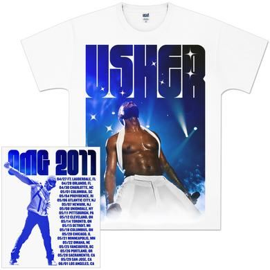 Usher 2011 Power Tour T-Shirt