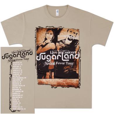 Sugarland Spring Fever Tour T-Shirt