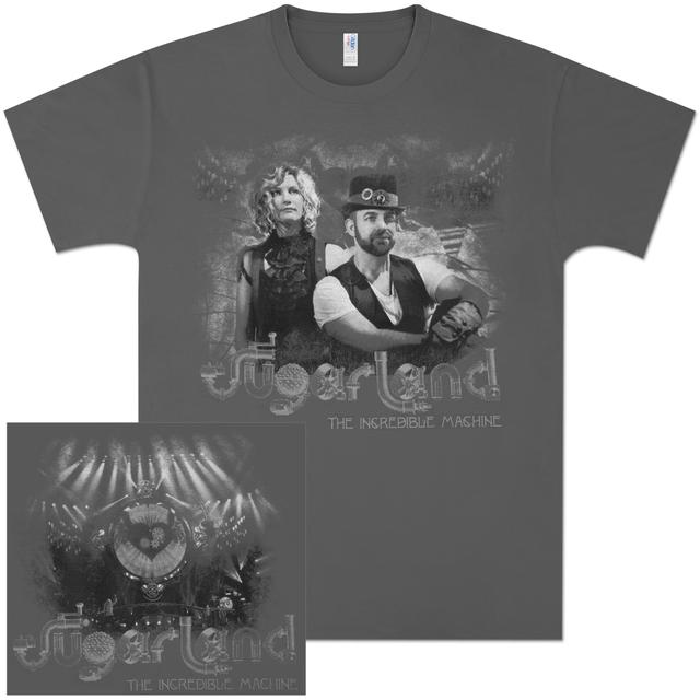 Sugarland Incredible Machine Tour T-Shirt