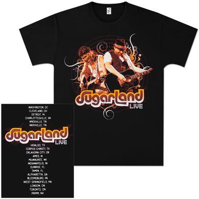 Sugarland Live Guitar Tour T-Shirt