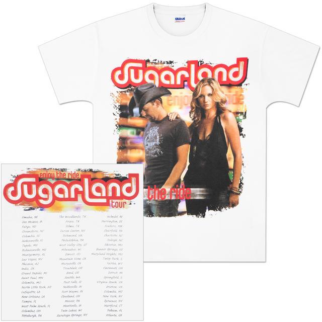 Sugarland Enjoy the Ride Tour T-Shirt