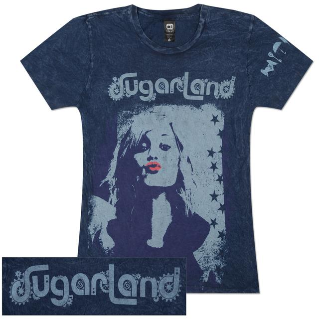 Sugarland Distressed Kiss Girlie T-Shirt
