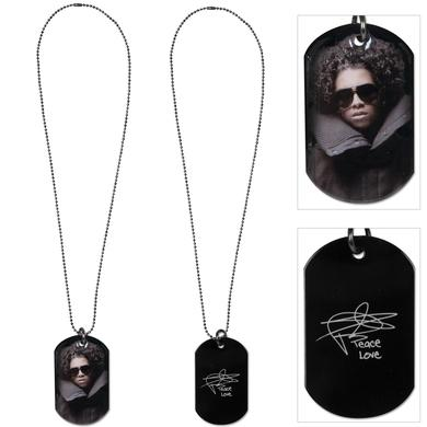 Mindless Behavior Princeton Dog Tag Necklace