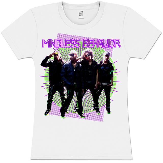 Mindless Behavior Rays Girlie T-Shirt