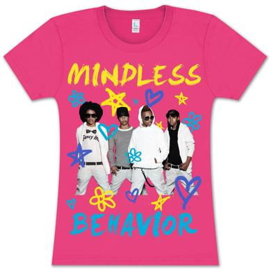 Mindless Behavior Doodle Girlie T-Shirt