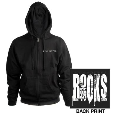 Avril Lavigne R.O.C.K.S Zip-Up Hooded Sweatshirt