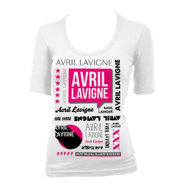 Avril Lavigne Logo Junior T-Shirt