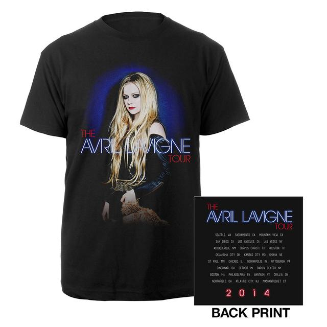 Avril Lavigne North American Tour Photo Tee