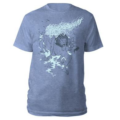 Phosphorescent Lady and The Lion Vintage Style Tee
