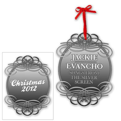 Jackie Evancho Silver Screen Ornament 2012